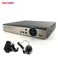 16CH 4MP AHD DVR NVR гибридный видеорегистратор Гибридный (8CH 4MP AHD + 8CH 4MP IP) 5в1 поддержка аналогового/TVI/CVI/AHD/IP