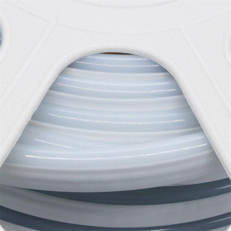 220 В 12 В неоновый светодиодный полосы 2835 120 светодиодный S/M IP65 Водонепроницаемый открытый гибкий светодиодный неоновые трубки ленты света с ЕС Мощность адаптер - 3