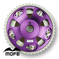 SPECIAL OFFER MOFE Racing HIGH QUALITY Original Logo Adjustable Cam Gear Pulley For Toyota Supra 2JZGTE