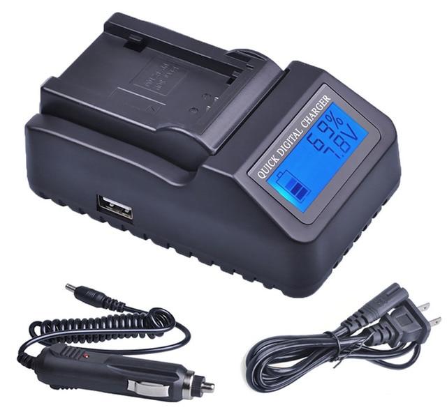 DZ-MV780A DZ-MV780MA Camcorder Battery Charger for Hitachi DZ-MV730A DZ-MV750MA