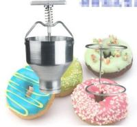 Manual Donut Depositor Medu Vada Dropper Plunger Dough Batter Dispenser Hopper tool parts