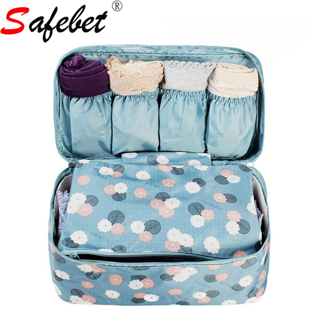 New Portable Plus Size Travel Drawer Dividers Closet Organizers Bra  Underwear Storage Bag Container For Women