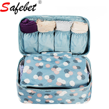 New Portable Plus Size Travel Drawer Dividers Closet Organizers Bra Underwear Storage Bag Container For Women Gril