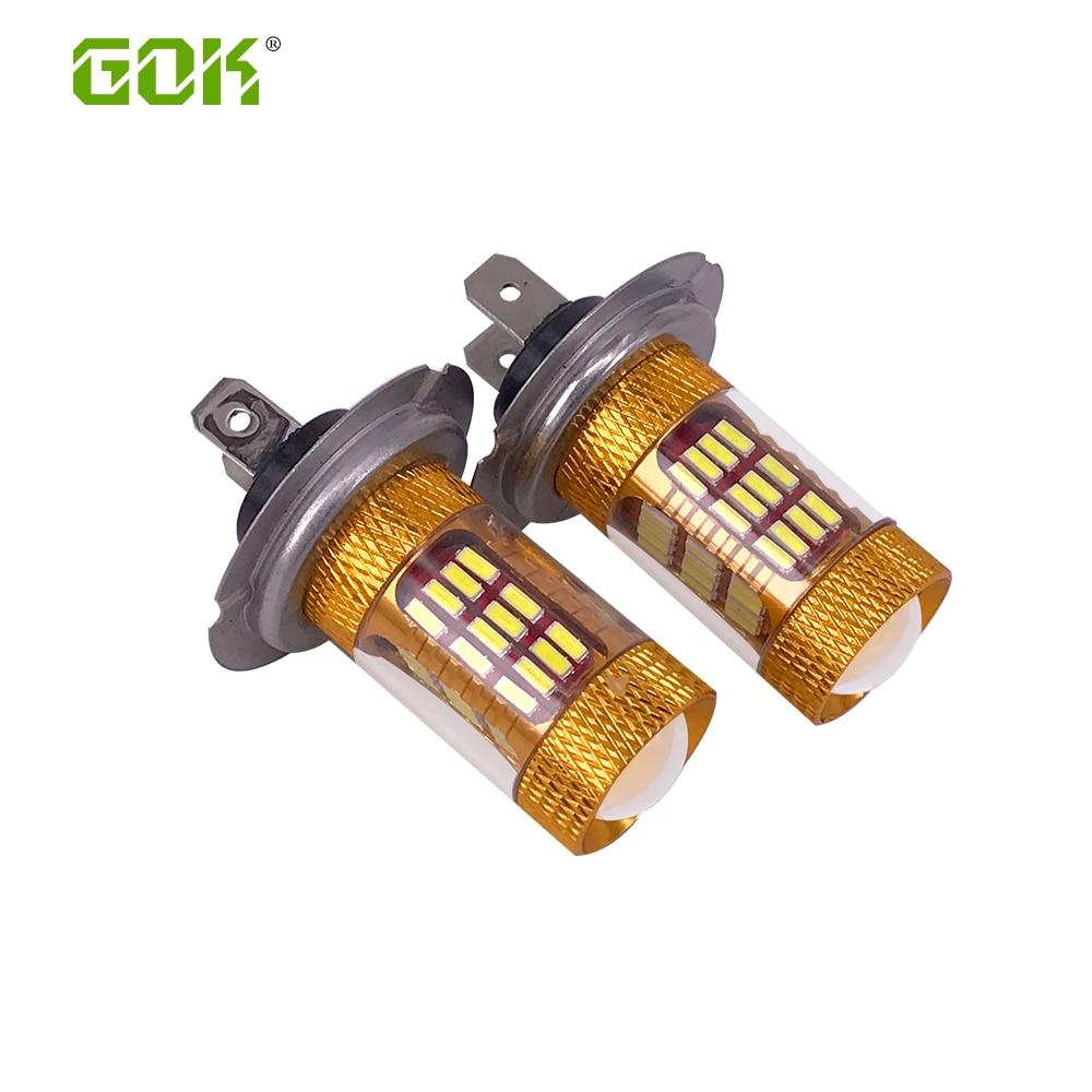 10 x Car Led H7 Lampa İşıq 30W Chip 4014 SMD 60LED İşıq - Avtomobil işıqları - Fotoqrafiya 1