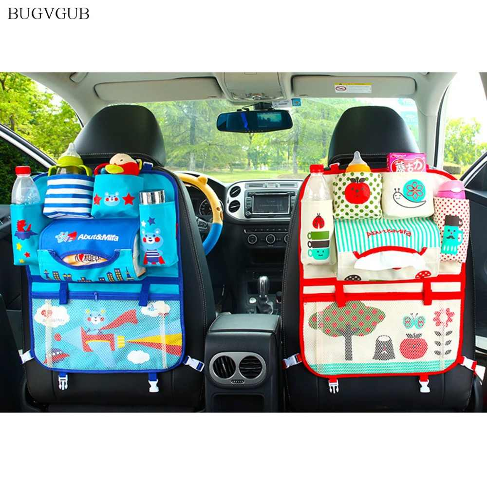 New Car Organizer Stowing Tidying Seat Back Storage Car Rear Pocket Carton Hand Bag for Baby Kids Auto Styling Cover Accessories