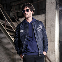 FuHao 2017 New Fashion Bomber Jackets Hip Hop Jacket Men S Clothing Pilot Air Force Male