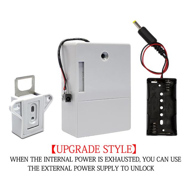 Free cabling EMID type drawer lock locker door lock hidden intelligent induction lock EMID 125K electronic lock