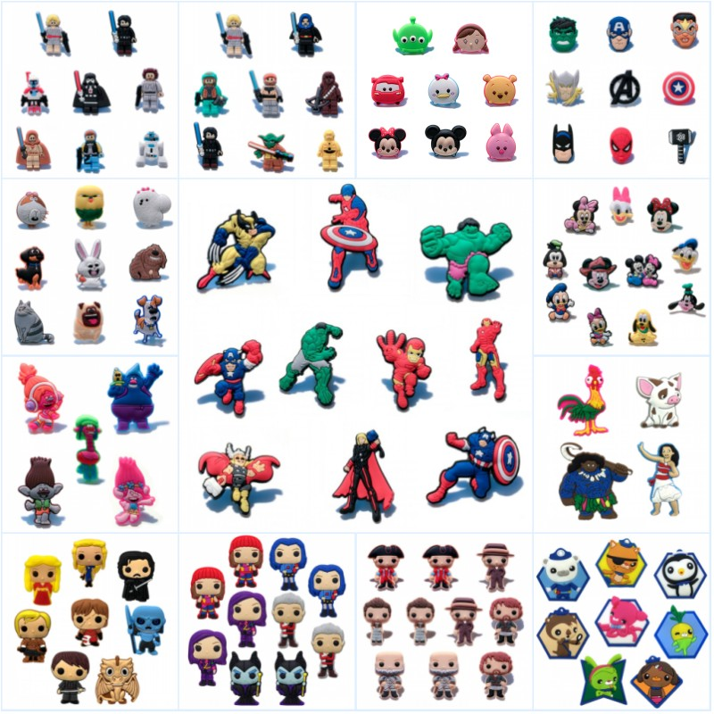 Labels, Indexes & Stamps 100% Quality 100pcs Avenger Superhero Cartoon Brooches Accessory Badges For Clothes/hat/bag Decor Buttons Diy Pins Child Party Gifts To Clear Out Annoyance And Quench Thirst