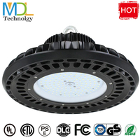 UFO LED high bay light 100W 150W 200W 240W 300W highbay industrial lighting for warehouse factory courts 100 277V waterproof