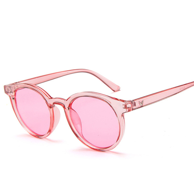 d7d1b05d5e 2018 candy color sunglasses women purple orange pink summer accessories for  beach fashion oval sun glasses
