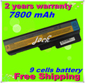 Jigu 9 células bateria do portátil para lenovo 3000 g430 g450 g530 g550 ideapad v460 g430 z360 g430 4152 g430l