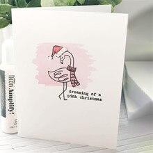 Eastshape 6pcs Flamingo Holiday Die Metal Cutting Dies Cut New 2019 Wedding Scrapbooking envelope paper craft Blade frame