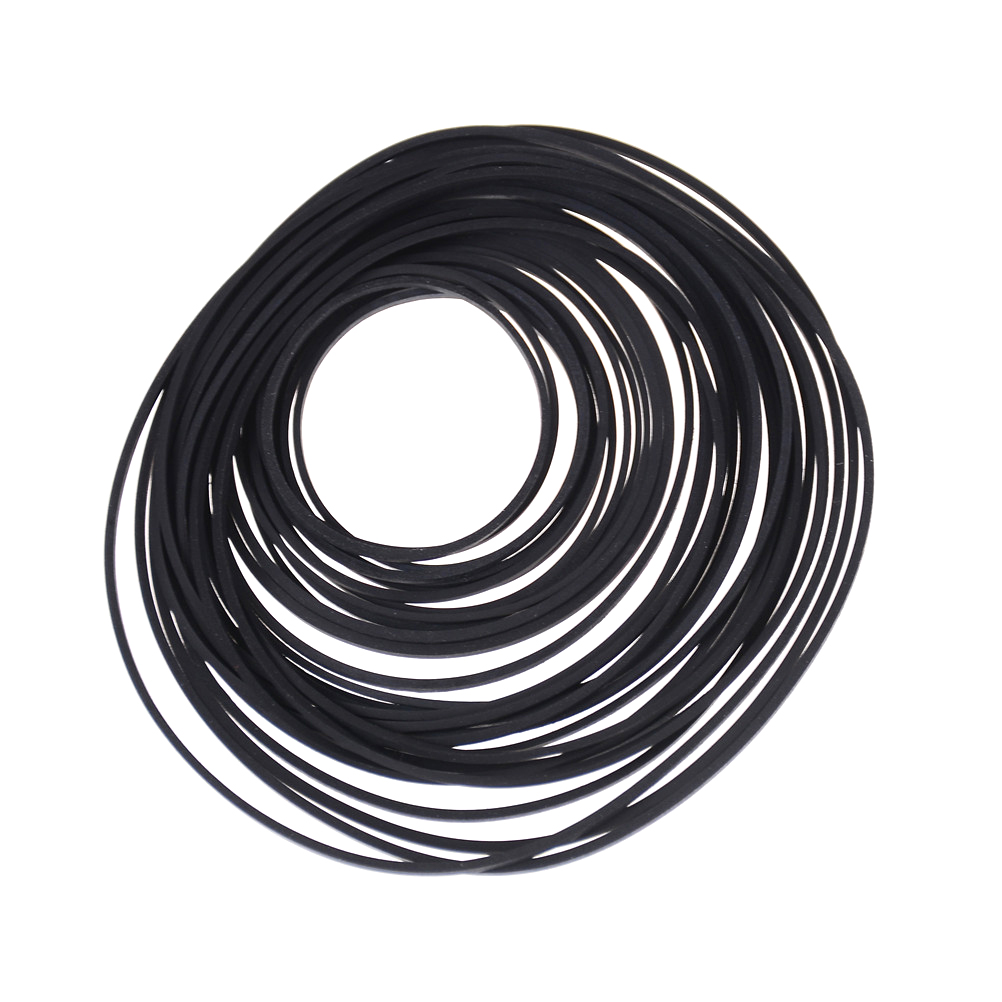 Black Rubber Small Fine Pulley Pully Belt Engine Drive Belts For DIY Toy Module Car 30mm to 120mm Dia 1PackBlack Rubber Small Fine Pulley Pully Belt Engine Drive Belts For DIY Toy Module Car 30mm to 120mm Dia 1Pack