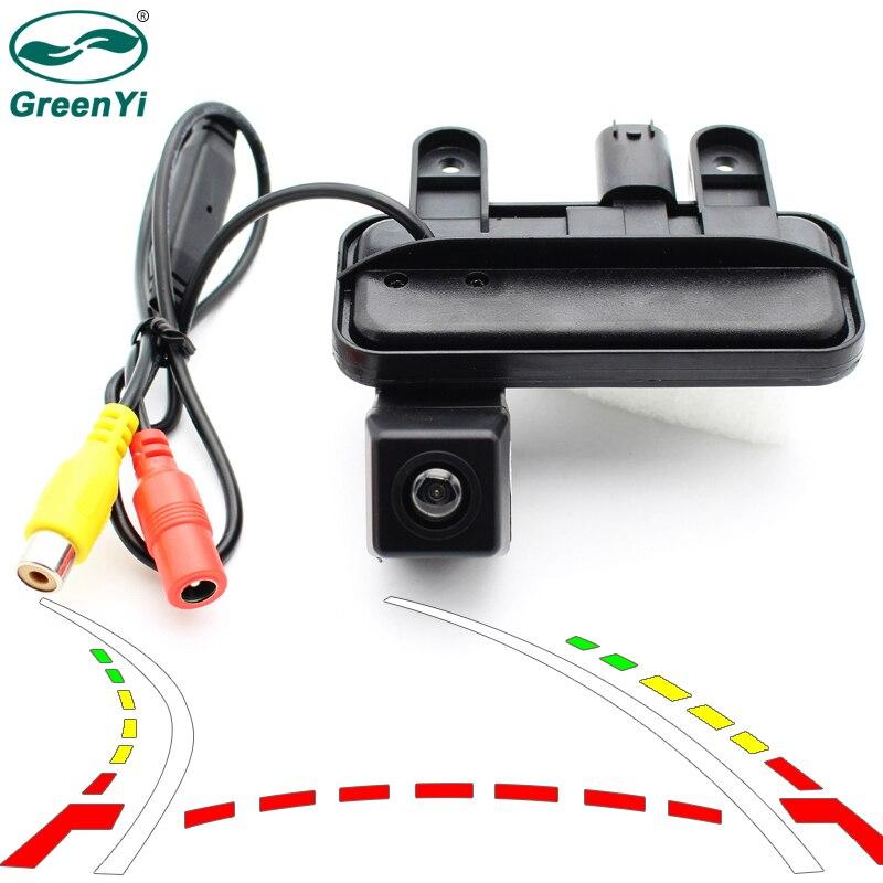 Auto Parking Assistance Intelligent Dynamic Trajectory Tracks Rearview Backup Camera For Benz E W212 C207 W207 E200 E260 E300 0