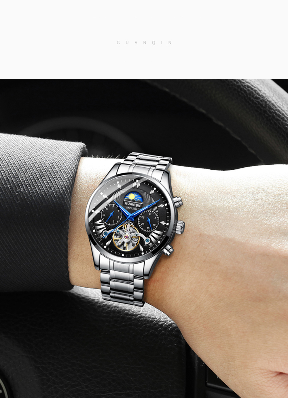 HTB1PywiRgHqK1RjSZFgq6y7JXXa6 GUANQIN 2019 clock men's/mens watches top brand luxury automatic/mechanical/luxury watch men gold tourbillon mens reloj hombre