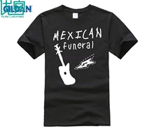 100% cotton O-neck printed T-shirt Dirk Gently mexican funeral band design T-Shirt