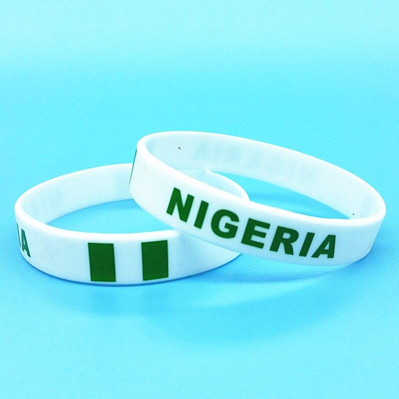 2pcs Nigeria Flag Wrist...