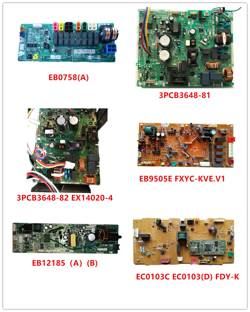 EB0758(A)| 3PCB3648-82 EX14020-4| 3PCB3648-81 2P323457-1/2/3| EB9505E FXYC-KVE.V1| EB12185(A)(B)| EC0103C EC0103(D) FDY-K Used