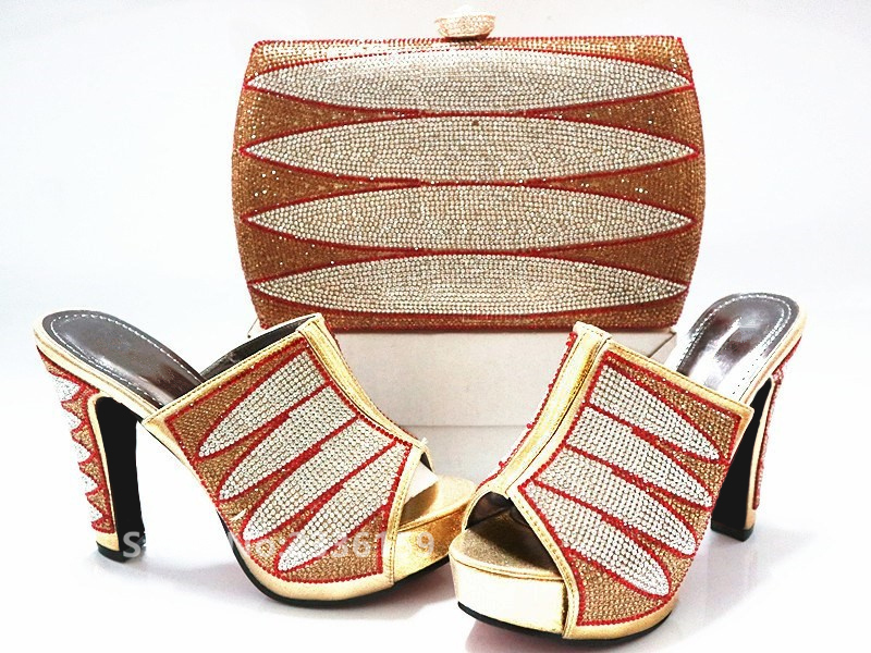Femmes Italiennes En Assorties Arrivée Sac Nouvelle Et Noir Sacs Les Chaussures Avec Strass Vert or rouge vert Assortis Décoré bleu Italien Ensemble Africain Ttgafgqwx