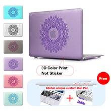 Paisley Mat Funda Pour Mac air Housse Pour Macbook pro air retina 11 12 13 15 pouce Cas Pour Apple Ordinateur Portable Macbook