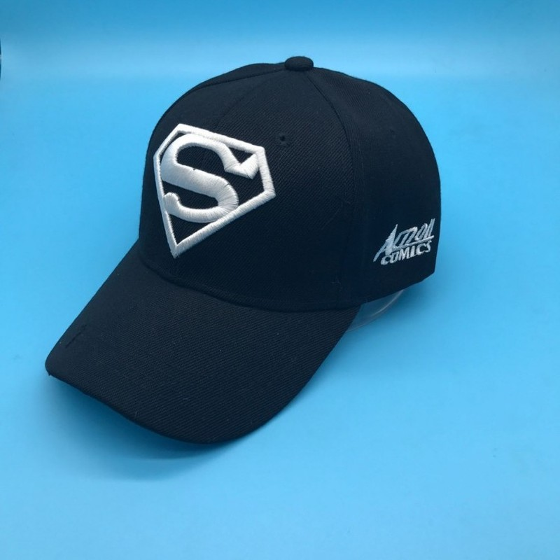 2018 New Letter Superman Cap Casual Outdoor Baseball Caps for Men Hats Women Snapback Caps for Adult Sun Hat