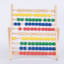 New Wooden Baby Toy Montessori Abacus Educational Toys Gifts