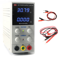 MCH K3010DN Mini Laboratory Digital Adjustable Regulated DC Switching Power Supply 30V 10A 0.01V 0.001A + Probe EU/AU/US Plug