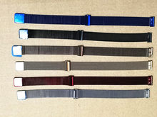 Correa de repuesto de acero inoxidable milanesa para Fitbit, pulsera inteligente de Alta calidad, 16MM, 1 Uds.