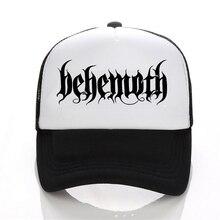 New Hip Hop DEATH HEAVY METAL PUNK Band Behemoth Eagle Cap Men Casual baseball Black White Hat Snapback Women