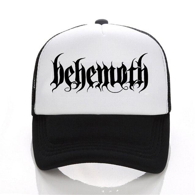 New Hip Hop DEATH HEAVY METAL PUNK Band Behemoth Cap Men Casual baseball  Cap Black White cfcd2b1eb02
