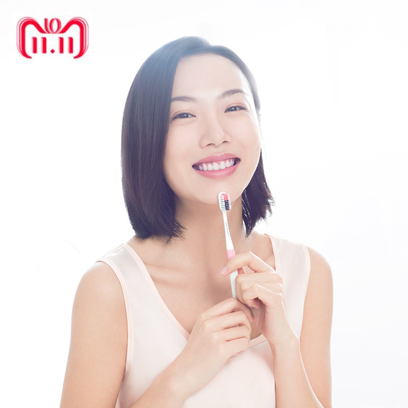Xiaomi Portable DOCTOR-B 1pc Deep Cleaning Xiaomi Toothbrush Dental Care Toothbrush Oral Hygiene Tooth Brush For Adult Travel new 2pc set xiaomi doctor b kid toothbrush food grade material imported soft brush for 6 12 year old children best gift