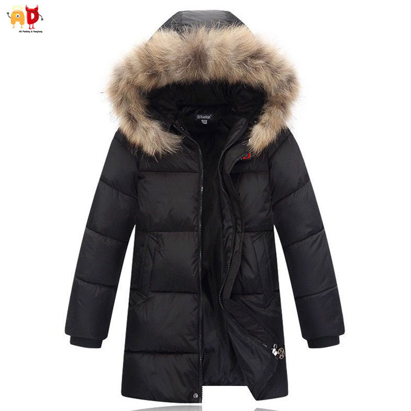 AD Warm Down Cotton Winter Coats Jacket for Boys Cotton Padded Thermal Kids Outwear Parkas Children's Clothes children winter coats jacket baby boys warm outerwear thickening outdoors kids snow proof coat parkas cotton padded clothes