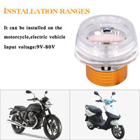 ISHOWTIENDA Top Brand New Arrival Universal Driving Car Motorcycle Spot Jellyfish Headlight LED Light 12 80V