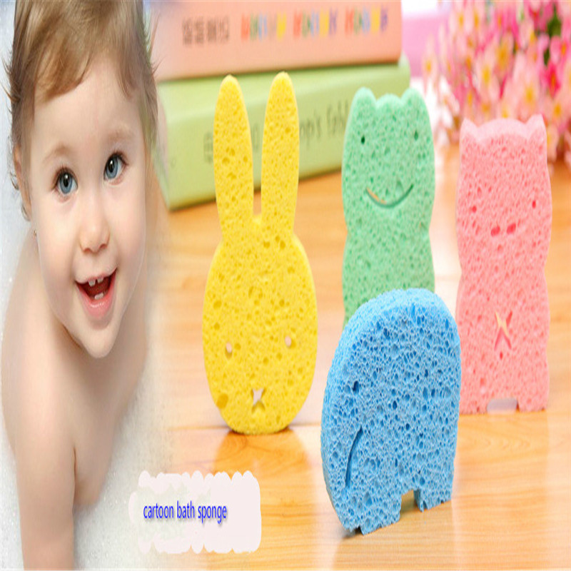 1 pc bath sponge for baby Solid Bath Balls Rich bubbles Body Flower Bath Sponge Shower Brush Body Wash Scrubber Mesh Soft Puff ...