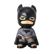Catman Money Saving Box Home Decoration Spiderman Resin Money Boxes Toy Piggy Banks Gift Kids Money Boxes Coin Piggy Bank hungry eating dog electric money boxes