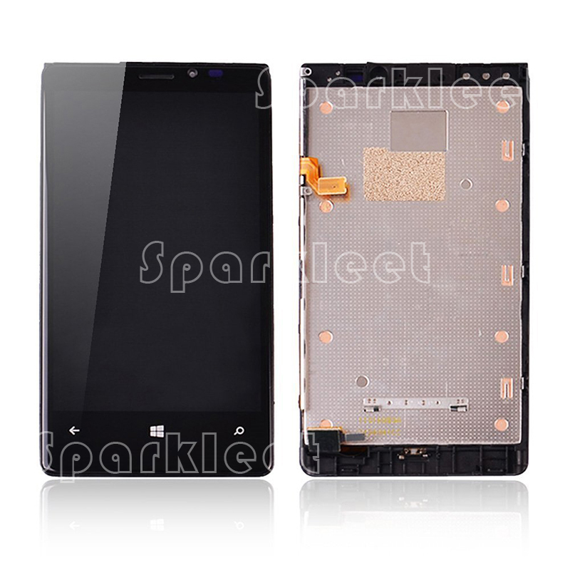 Good Quality 4.5 For Nokia Lumia 920 LCD Display Touch Screen Digitizer Assembly with Frame Free Shipping aaa quality replacement for nokia lumia 920 lcd display with touch screen digitizer assembly with frame free shipping