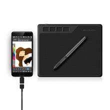 GAOMON S620 6,5x4 дюймов 8192 уровень безбатарейная Ручка Поддержка Android Windows Mac OS система цифровой графический планшет для рисования электронная доска для записей и osu планшет