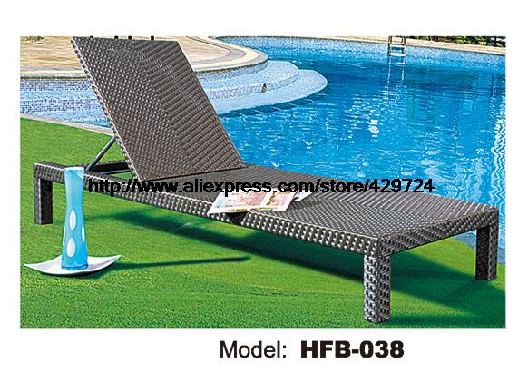 Swing Pool Rattan Sun Lounger Chair Modern Rattan Lying Chair Graden Beach Sun Lounger Lying Sofa Bed Rattan Longue Chair HFB038 rectangle rattan sofa holiday outdoor rattan sofa bed terrace sun bed outdoor leisure patio balcony sofa bed chair with tent