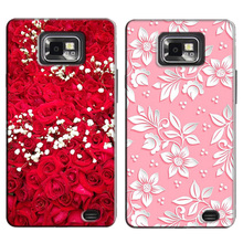 Original Phone Case for Galaxy S2 gt i9100 S2 Plus i9105 Back Case Cover for Samsung Galaxy S2 i9100 S2 Plus i9105 Cases Cover(China)