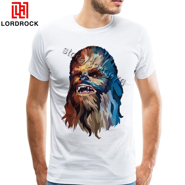 1dea234f Awesome Chewbacca Merchandise Men's Funny Star Wars Clothing Short Sleeve  Tee Shirt for Big and Tall Guys T Shirt Boyfriend Gift