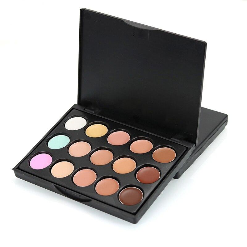 Brand Makeup Base Face Concealer Palette Longwear Brightener Contour Highlighter Color Correcting Face Concealer Make Up Palette