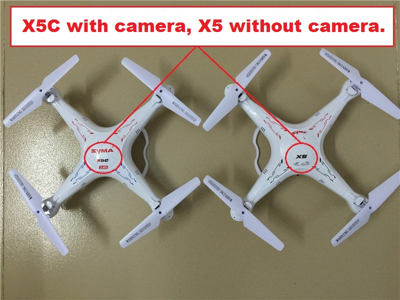 SYMA X5C (Upgrade Version) RC Drone 6-Axis Remote Control Helicopter Quadcopter With 2MP HD Camera 2