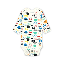 Cartoon Print Long Sleeves Bodysuit