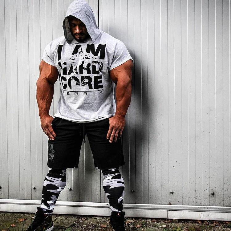 Men cotton hoodie sweatshirts fitness tank top (5)