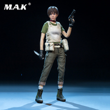 цена на Ourworld 1/6 Scale FS014 Rebecca Chambers Action Figure Collection Collectible Action Figure Doll