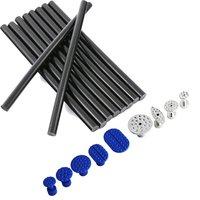10 Pack Of Glue Stick Plastic Aluminum Glue Tabs Set PDR Tools Dent Repair Paintless Dent
