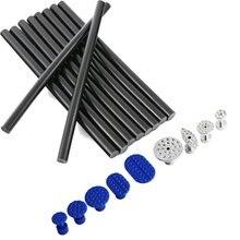 Swhgywhz 10 упак. из Клей-карандаш-Пластик и Алюминий клей вкладки комплект-PDR Инструменты дент ремонт Paintless Dent Repair