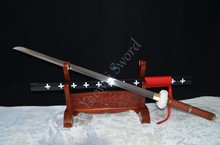 Dead doctor's sword japanese samurai katana One Piece Anime Roronoa Zoro full functional sword can cut bamboo tree