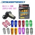 Xpower-20 Шт./компл. УНИВЕРСАЛЬНЫЙ JDM D1 SPEC RACING WHEEL ГАЙКИ M12X1.5MM ДЛЯ HONDA TOYOTA FORD