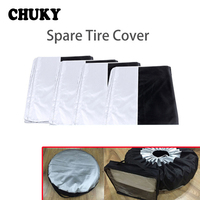 CHUKY 1X Car Spare tire cover Dustproof and Rainproof For Citroen c4 c5 c3 Chevrolet Captiva Lacetti Volkswagen VW Polo 4 5 7 6